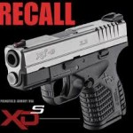 Springfield Armory 3.3 XD-S Safety Recall on 9mm and 45 ACP
