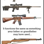 Assault Rifle vs. Sporting Rifle